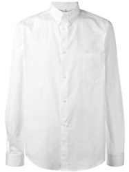 Golden Goose Deluxe Brand Chest Pocket Shirt White