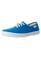 Victoria Shoes Inglesia Lona Trainers Blue Turquoise