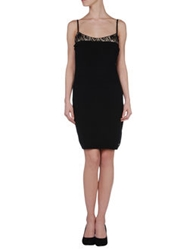 Cristinaeffe Collection Short Dresses Black