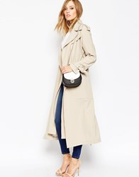 Asos Mac With Double Layer Detail Stone