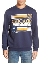 Men's Mitchell And Ness 'Chicago Bears' Tailored Fleece Crewneck Sweatshirt