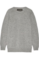 The Elder Statesman Melange Cashmere Sweater