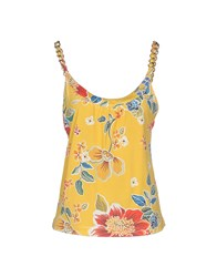Dandg Topwear Tops Women Yellow
