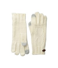 Roxy In Charge Knit Gloves Sea Spray Extreme Cold Weather Gloves Blue