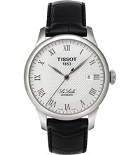Tissot T41.1.423.33 Le Locle Stainless Steel And Leather Watch