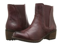 Aetrex Essence Autumn Merlot Women's Pull On Boots Red