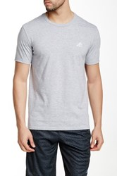 Adidas Short Sleeve Workout Tee No Color
