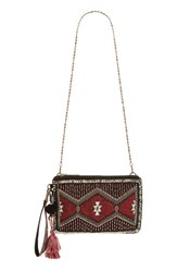 Steve Madden Steven By Jeleni Beaded Clutch