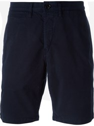 Paul Smith Red Ear Knee Length Bermudas Blue