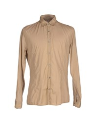 Gold Case By Rocco Fraioli Shirts Shirts Men Camel