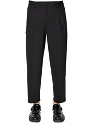 Emporio Armani 19Cm Stretch Wool Pants