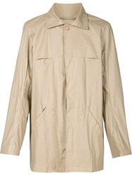 Christopher Raeburn Lightweight Trench Coat Nude And Neutrals