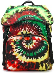 Valentino 'Tie And Dye' Backpack Multicolour