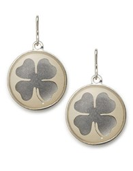 Alex And Ani Four Leaf Clover Necklace Charm Silver