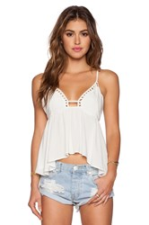 Wyldr Sunset Top White