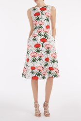 Erdem Women S Maia Carnation Dress Boutique1 White C