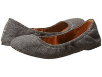 Lucky Brand Emmie Grey Women's Flat Shoes Gray