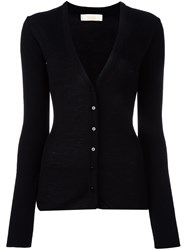 Ssheena V Neck Cardigan Black