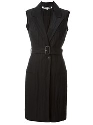 Mcq By Alexander Mcqueen Mcq Alexander Mcqueen Belted Sleeveless Coat Black