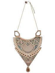 Anisha Parmar London Maha Wooden Necklace