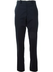 Stephan Schneider Front Pleat Trousers Blue