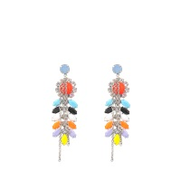 Tom Binns Neon Echo Earrings