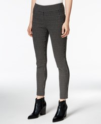 Bar Iii Diamond Print Slim Trousers Only At Macy's