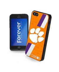 Forever Collectibles Clemson Tigers Iphone 5 Case Team Color