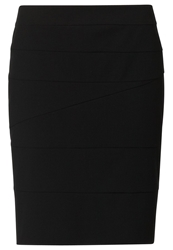 Comma Pencil Skirt Black
