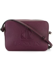Lanvin 'Nomad' Crossbody Bag Pink And Purple
