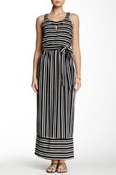 Robbie Bee Striped Maxi Dress