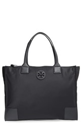 Tory Burch 'Ella' Packable Nylon Tote Black