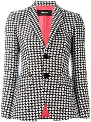 Dsquared2 Geometric Print Blazer Black