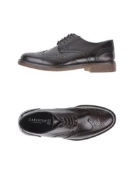Cafe'noir Cafenoir Lace Up Shoes Dark Brown