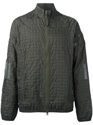 Adidas Quilted Sports Jacket Green