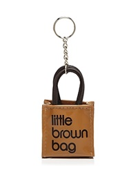Bloomingdale's Little Brown Bag Key Fob