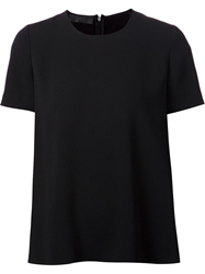 Co A Line T Shirt Black