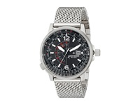 Citizen Bj7008 51E Eco Drive Nighthawk Silver Tone Stainless Steel Watches Bronze