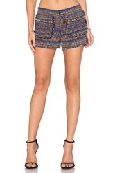 Rachel Zoe Finch Patch Pocket Short Black
