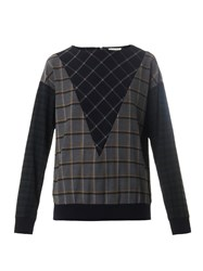 Band Of Outsiders Hunter Multi Plaid Sweatshirt