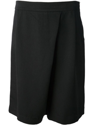 Kai Aakmann Loose Fit Bermuda Shorts Black