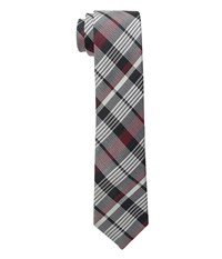 French Connection Wesley Check Tie Rhododendron Ties Red