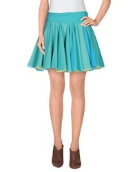 Viktor And Rolf Skirts Mini Skirts Women Turquoise