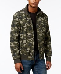 American Rag Men's M65 Camo Print Jacket Only At Macy's Dusty Olive