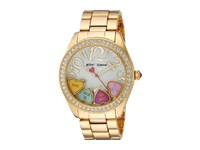 Betsey Johnson Bj00048 181 Sweetheart Candy Face Gold Watches