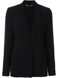 Etro Stand Up Collar Blazer Black