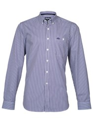 Raging Bull Bengal Stripe Shirt Purple