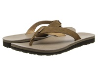Teva Classic Flip Leather Diamond Toasted Coconut Women's Sandals Brown