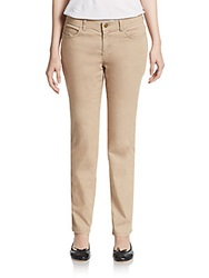 Lafayette 148 New York Colored Skinny Jeans Pumice