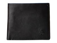 Original Penguin Leather Bi Fold Wallet Black Bi Fold Wallet